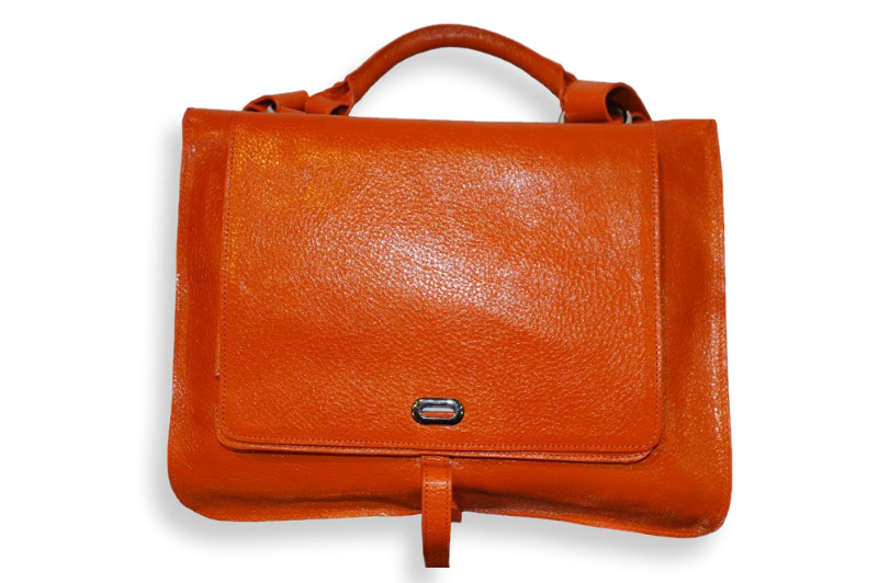 genuine cowhide leather hand bag, Model: Office
